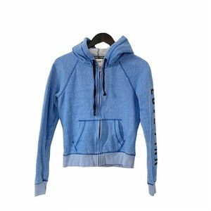 Victoria Secret's PINK Light Blue Hoodie Sweater